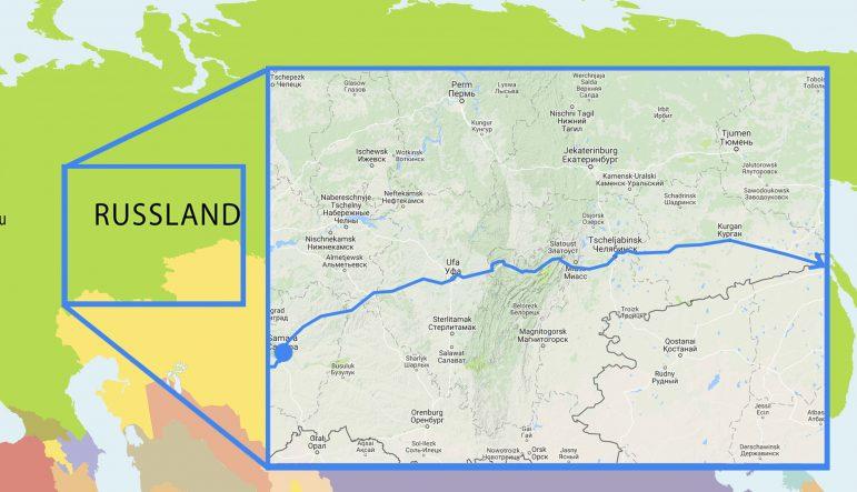 Radreise In Russland 3 Durch Den Ural Rausgefahren