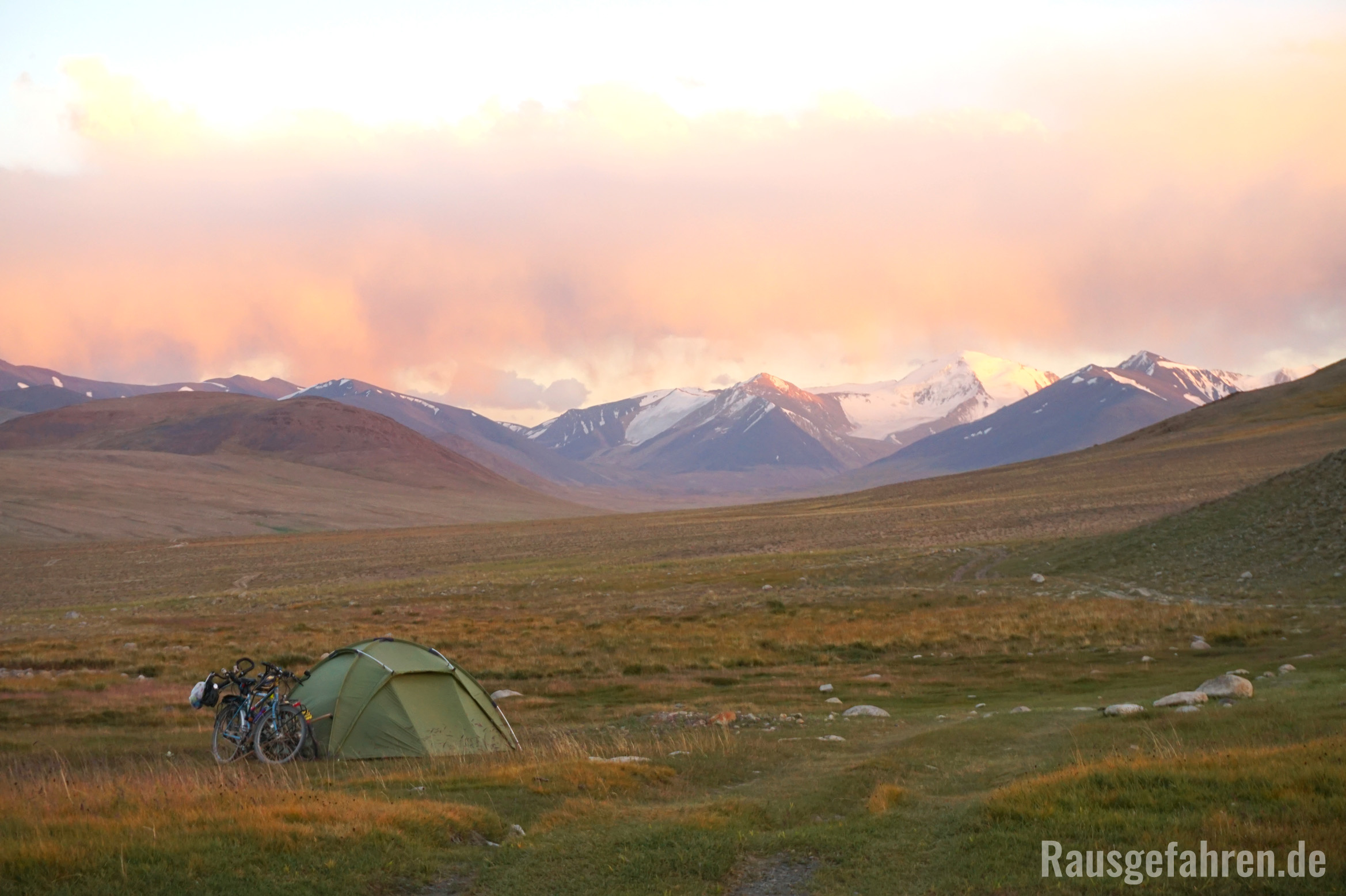 Camping in Tadschikistan