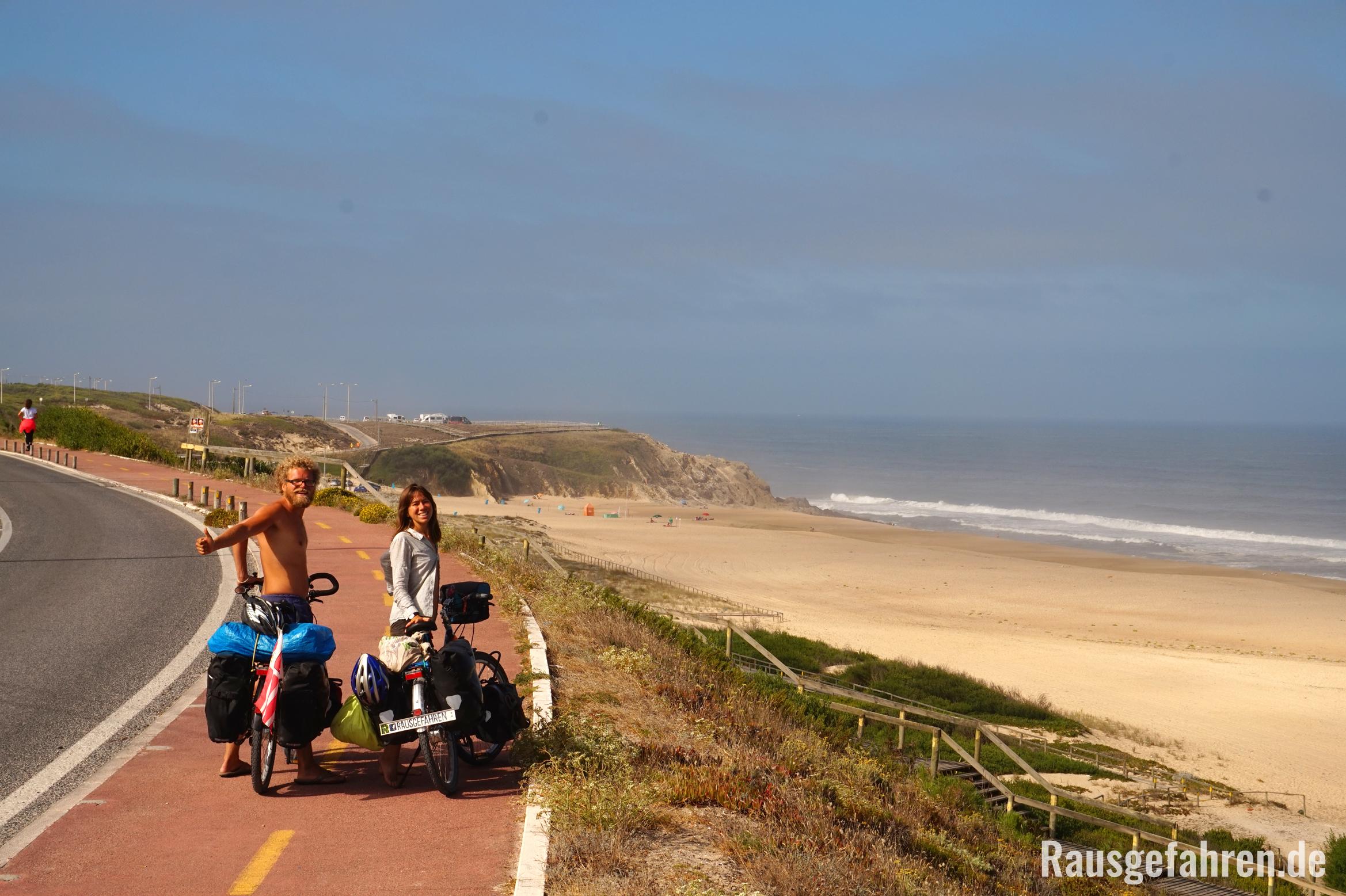 fahrrad fahren in Portugal