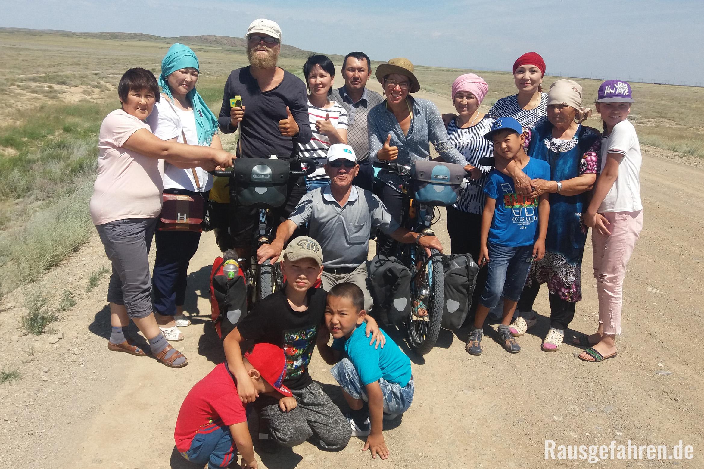 Fahrrad fahren in Kasachstan