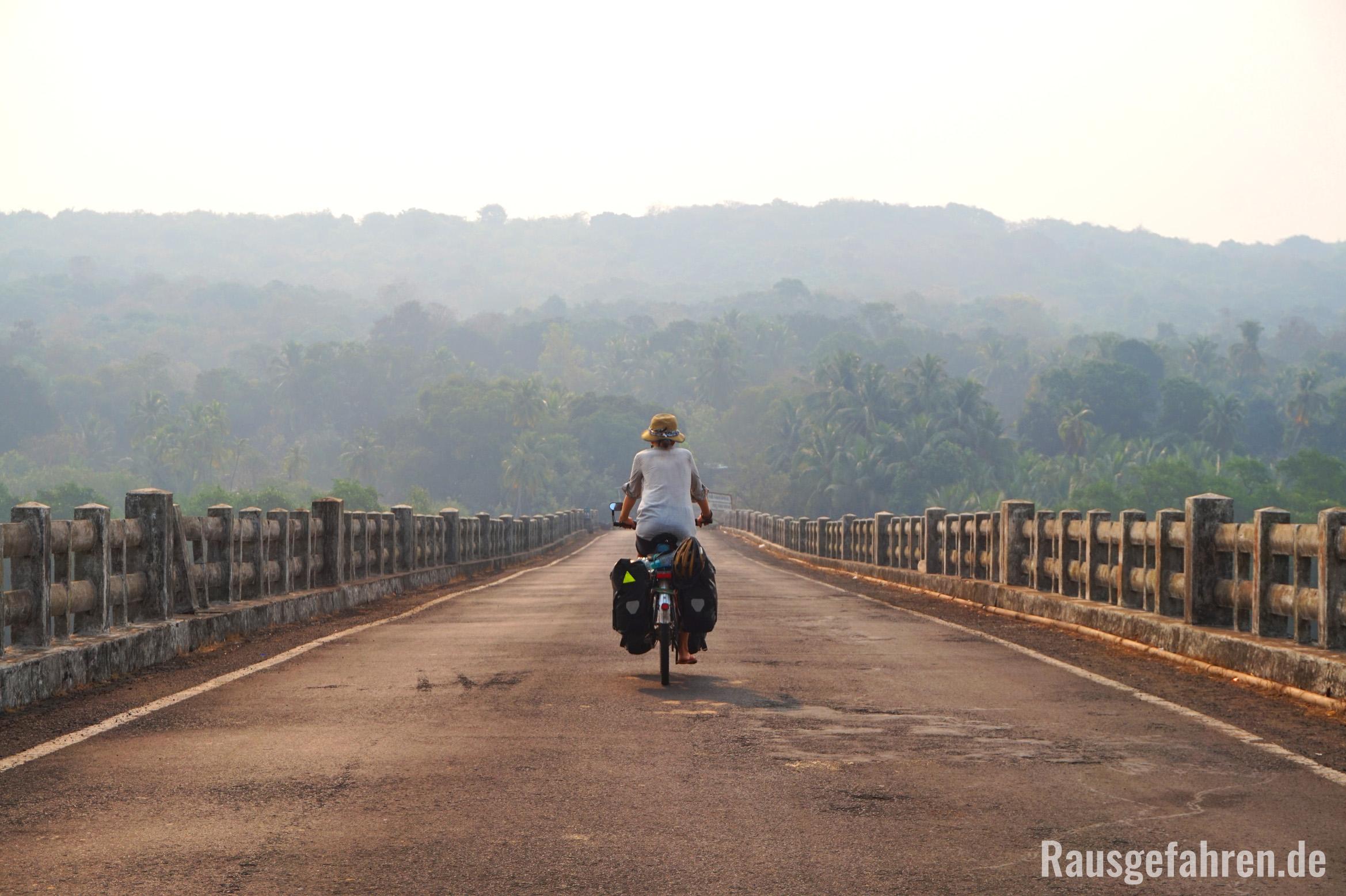 Fahrrad fahren Indien