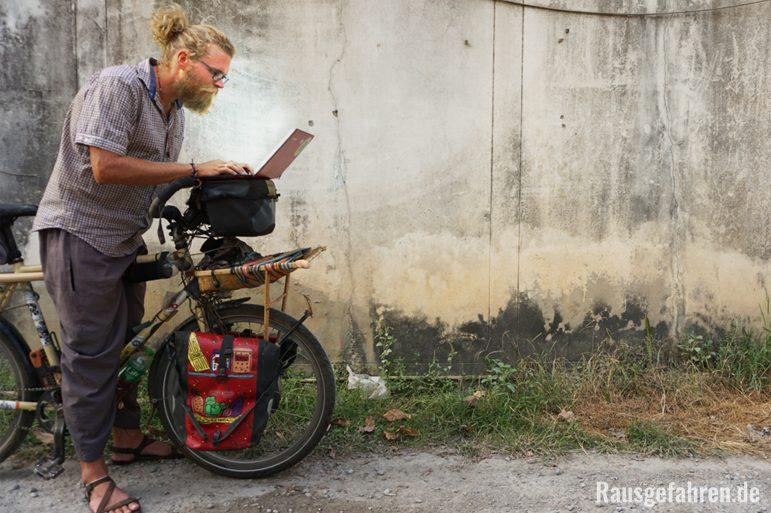 674c3f1432339e Reiseblogger auf dem Fahrrad  Im Folgenden teilen wir unsere Erfahrungen ...