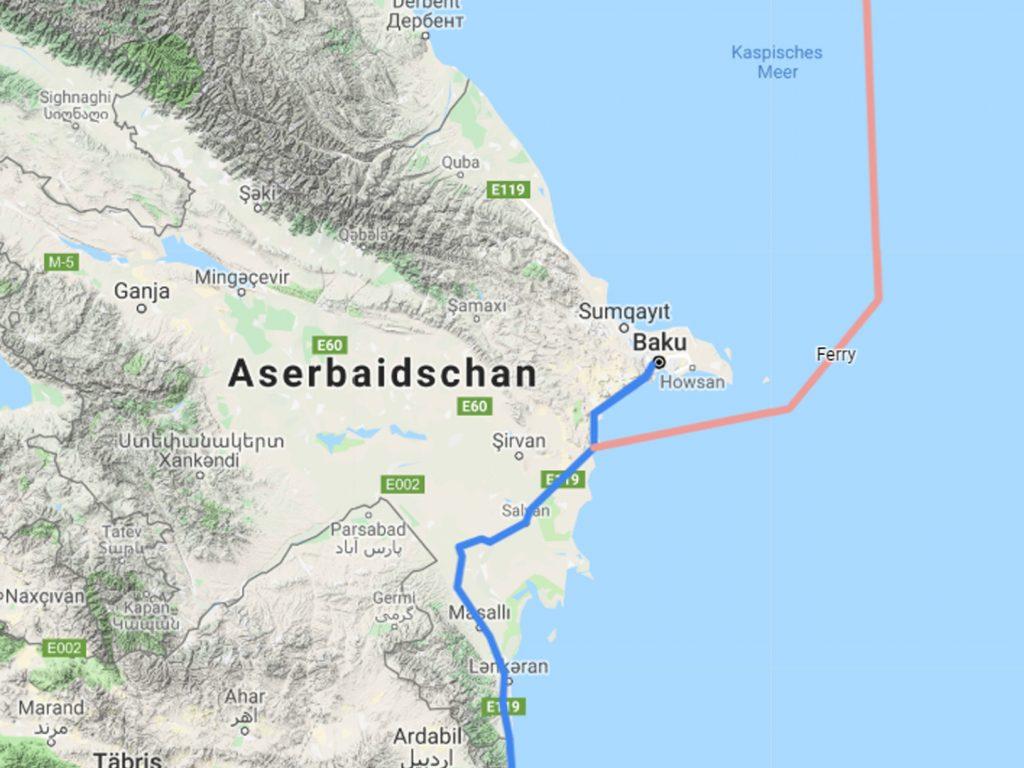 Aserbaidschan Fahrrad