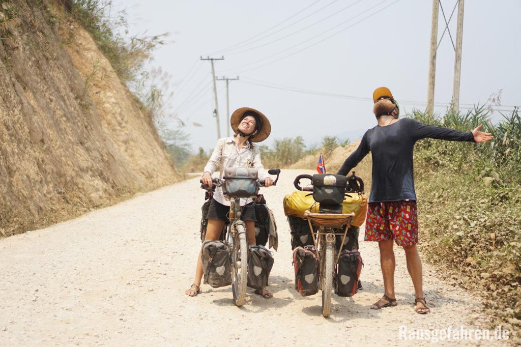 Radreise Laos