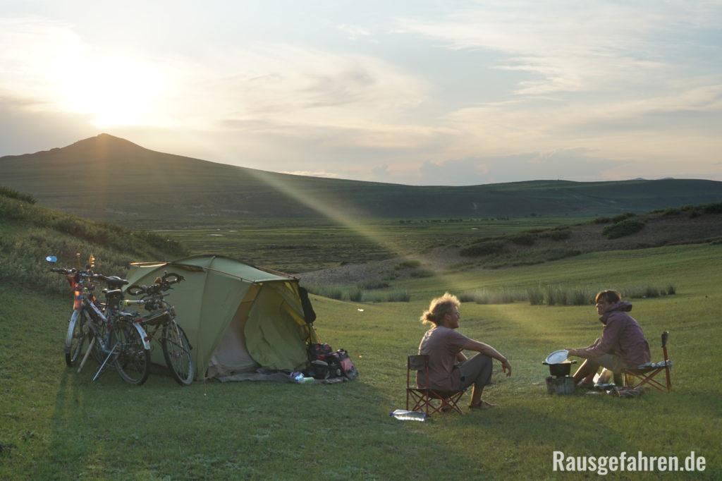 camping Mongolei
