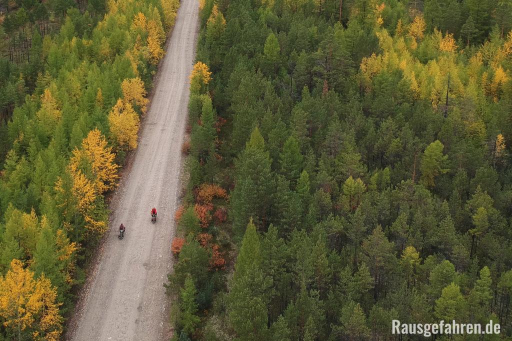 Sibirien Radreise