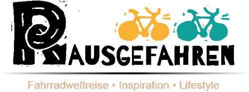 Rausgefahren – Um die Welt mit Rad und Zelt